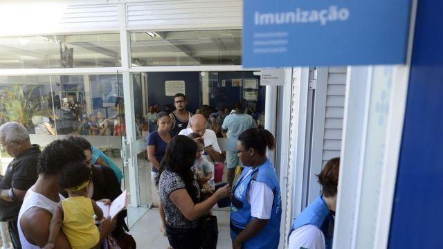Campanha de vacinação no Rio
