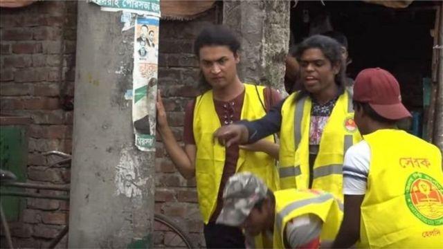 চট্টগ্রাম সিটি করপোরেশনে পরিচ্ছন্নতা কর্মী হিসাবে কাজ করছেন কয়েকজন হিজড়া