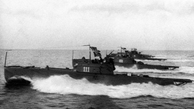 Советские торпедные катера на Черном море
