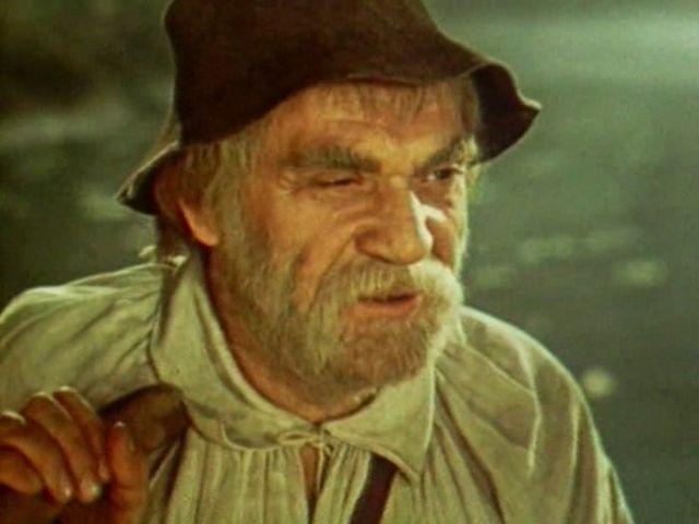 """В фільмі В. Івченка """"Лісова пісня"""" (1961) П. Вескляров зіграв дядька Лева"""
