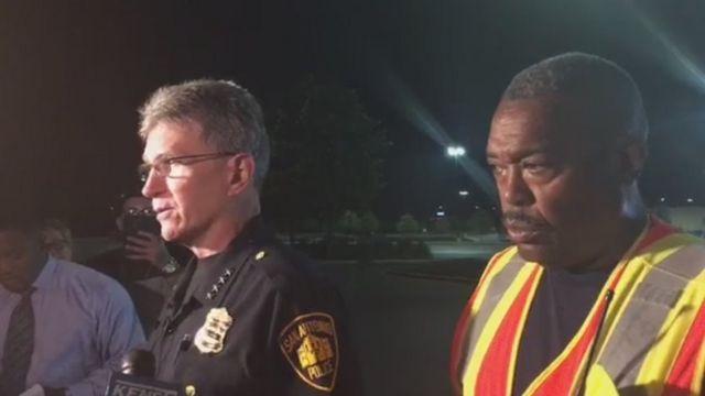 San Antonio'daki emniyet ve itfaiye yetkilileri
