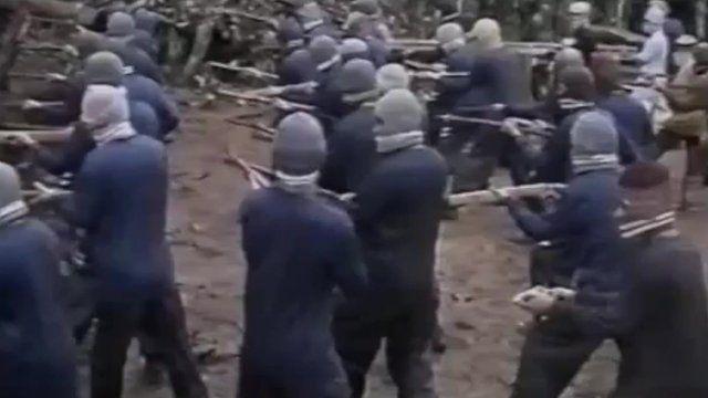 JI militants training