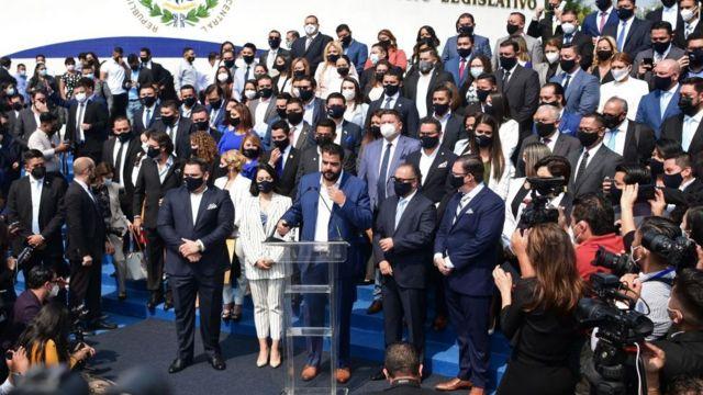 Discurso de inauguración de la nueva Asamblea Legislativa.