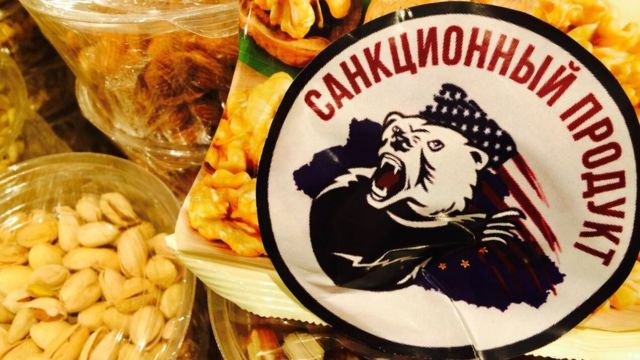 Russians shocked as banned Western food destroyed