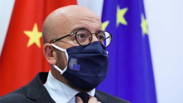 欧洲理事会主席米歇尔还要求习近平释放中国关押的瑞典籍书商桂敏海。