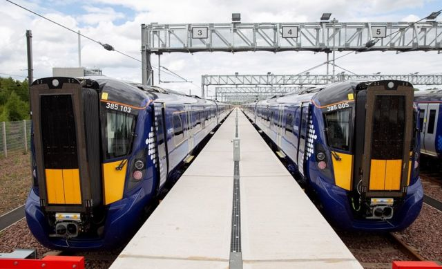First new ScotRail train back on track after fault fixed