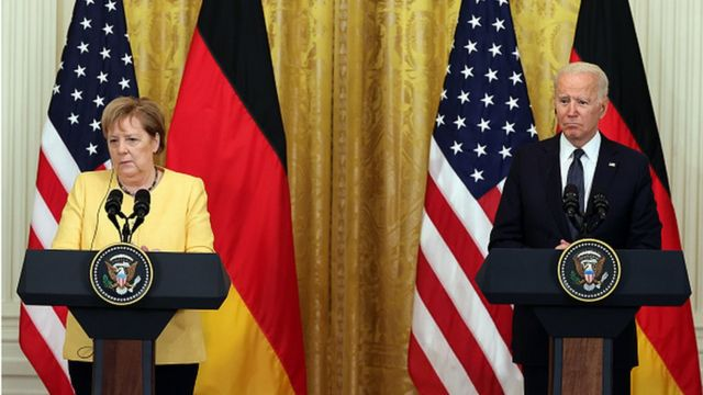 Президент Джо Байден обрав своїм пріоритетом покращення відносин із Німеччиною, що погіршилися - не в осатнню чергу і через Північний потік - за часів президенства Трампа.