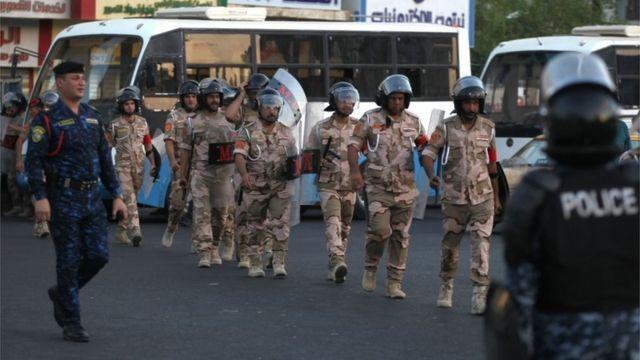 شهدت الاحتجاجات اشتباكات بين المتظاهرين وقوات الأمن قُتل فيها اثنين من المتظاهرين