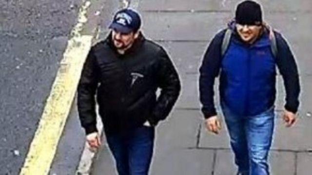 Os suspeitos de execução do ataque a Sergei Skripal e sua filha Yulia