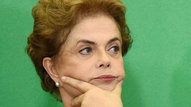 Dilma Rousseff, file pic