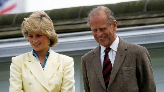 Герцог Единбурзький і принцеса Діана