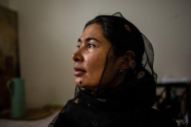 Tursunay Ziawudun đã trải qua chín tháng trời trong mạng lưới các trại tập trung của Trung Quốc