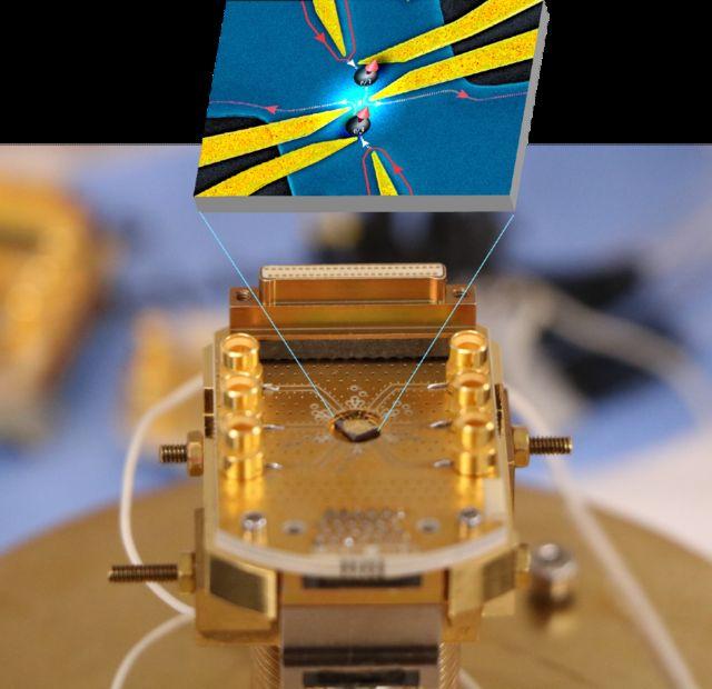 Esta es una de las muestras usadas en el experimento realizado por científicos de tres instituciones académicas de Francia.