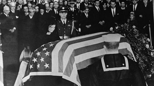Funeral de John F. Kennedy.