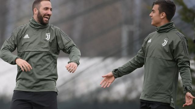 Gonzalo Higuain na Paulo Dybala ndị otu Juventus