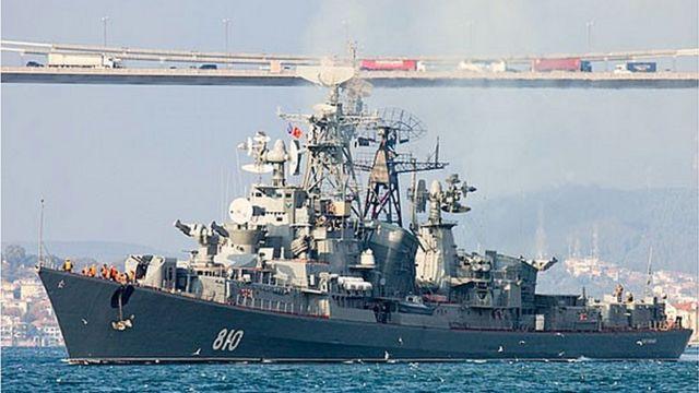 ロシアのフリゲート艦「スメトリブイ」