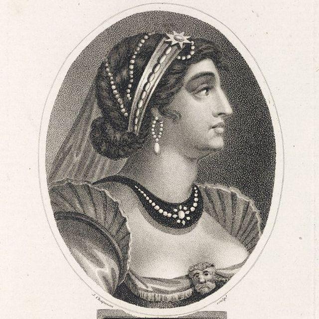 Una ilustración de Cleopatra