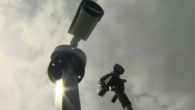 Cameras at Wimbledon