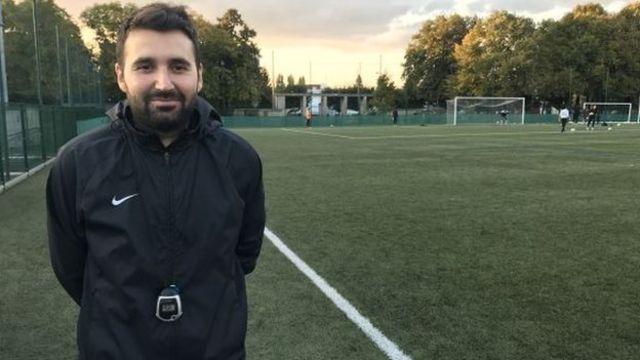 Antonio Riccardi, 28, Under-13s coach at AS Bondy