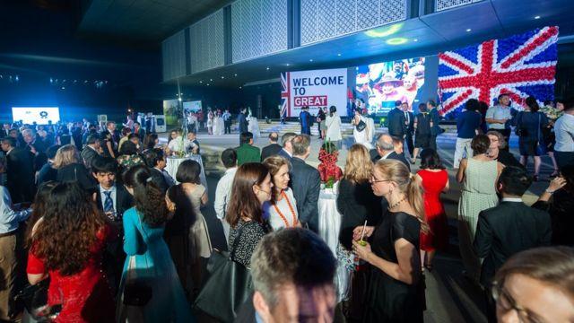 Khoảng 500 khách mời trong và ngoài nước dự sự kiện này.