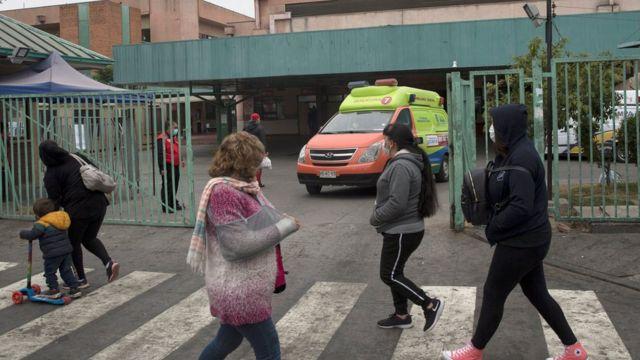 Люди в Сантьяго