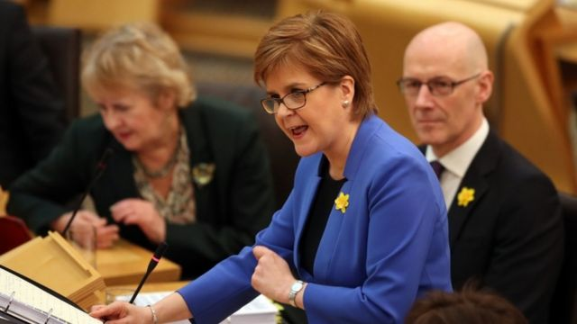 Scottish Parliament to vote for Brexit to be cancelled
