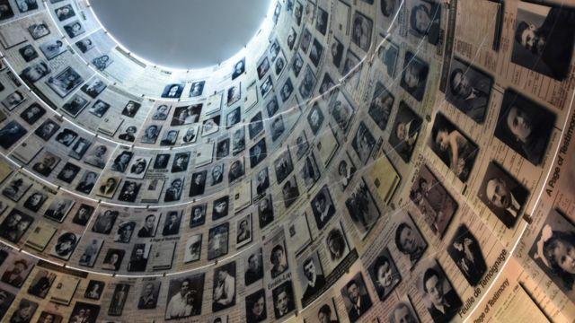 Museo con fotos de víctimas