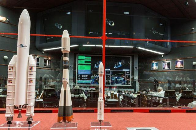 Centro de operaciones de la ESA en Kourou.