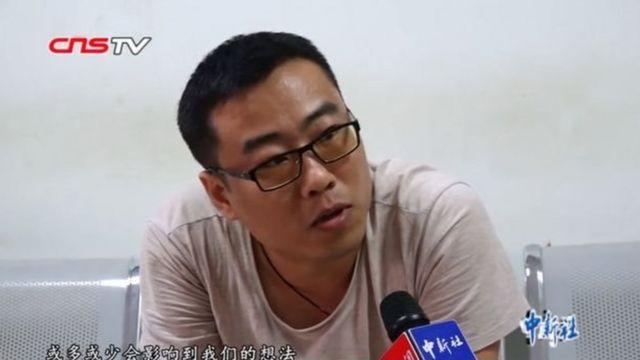 Ông Wang nói ông gặp nhiều vấn đề về học hành của đứa con đầu sinh vào tháng chín.