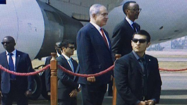 Umushikiranganji wa mbere wa Israel yakiriwe na Perezida P Kagame