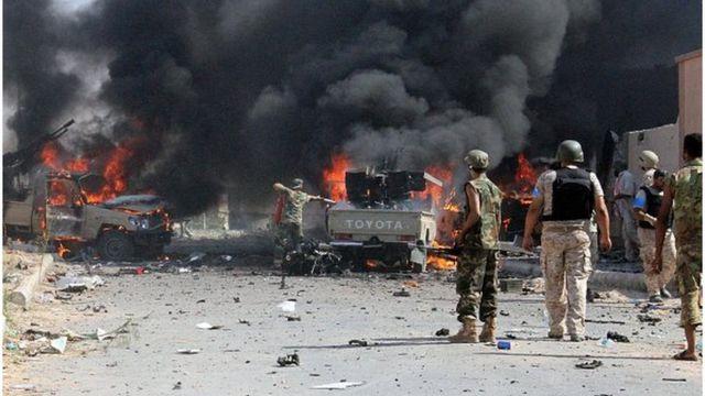 libye, etat islamique