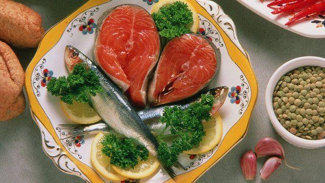 Las sardinas y el salmón son de los que menos mercurio tienen.