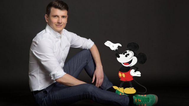 Marko Jeličić sa Mikijem