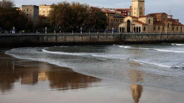 Pantai di Spanyol