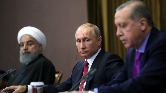 اردوغان، پوتین و روحانی