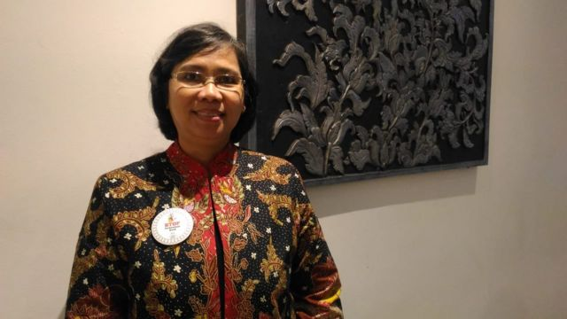 Lenny Rosalin, deputi menteri pemberdayaan perempuan dan perlindungan anak bidang Tumbuh Kembang Anak