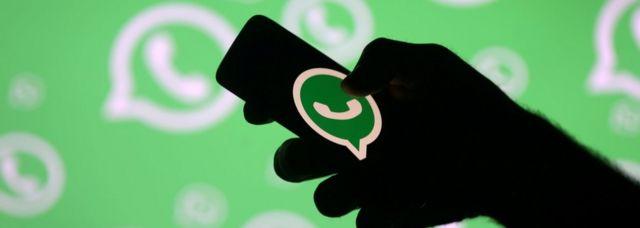 WhatsApp sur un smartphone