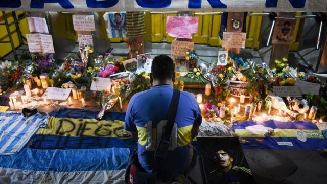 آرژانتین پس از از دست دادن فوق ستاره فوبتالش در ماتم فرو رفته است