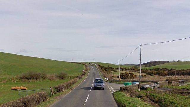 A77 near Lochans