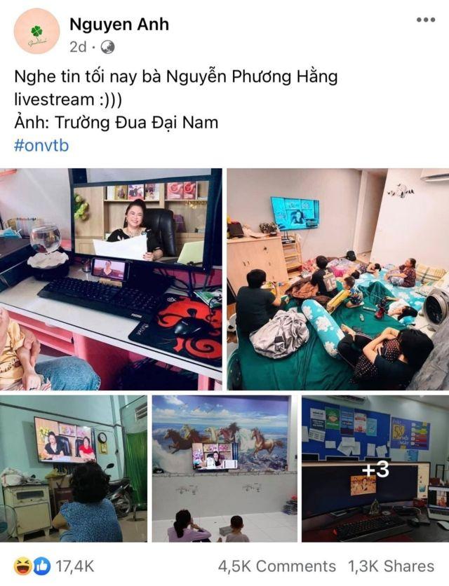 Facebook tràn ngập hình ảnh chế thể hiện độ phủ sóng livestream của bà Nguyễn Phương Hằng