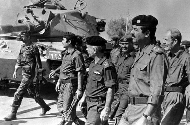 بازدید صدام حسین از اردن در سال 1980 میلادی