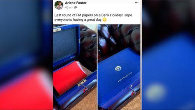 Facebook post of Foster's FM case
