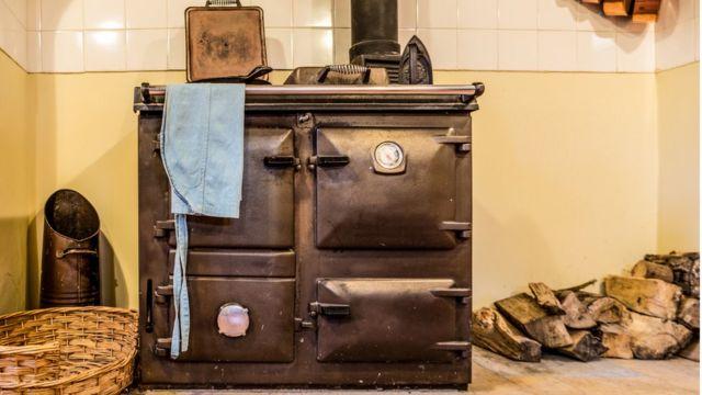 Викторианская кухонная плита