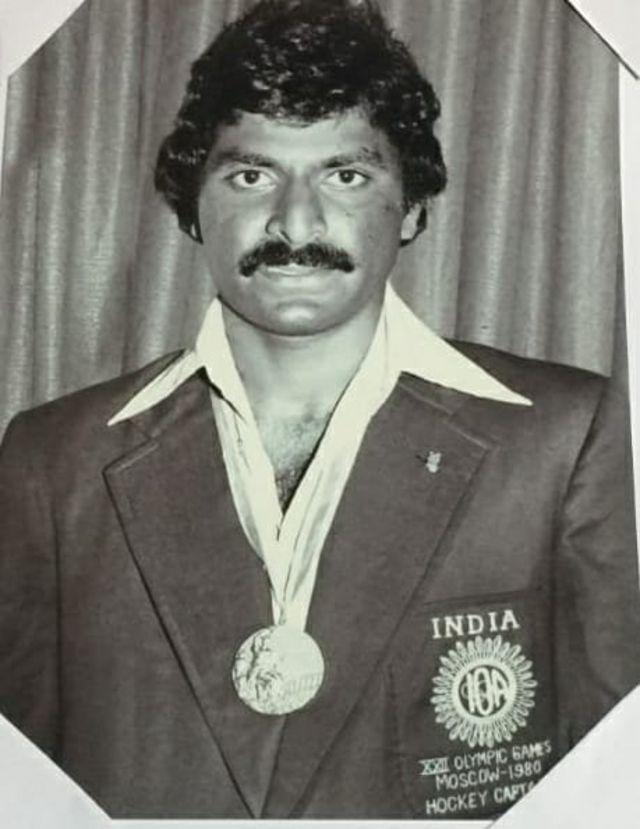 1980-ல் பதக்கம் வென்ற அணியின் கேப்டன் வாசுதேவன் பாஸ்கரன்