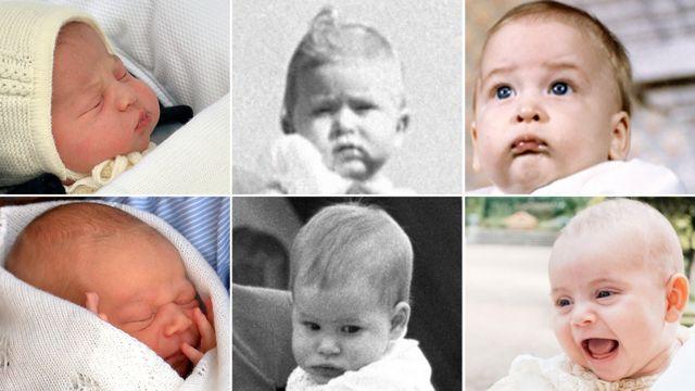 Fotografije kraljevskih beba