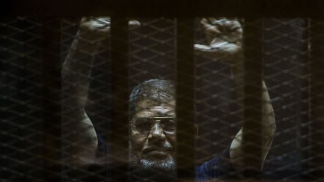 Mohammed Morsi: Egypt accuses UN of 'politicising' death