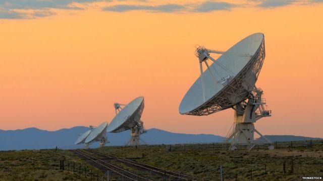 Radiotelescopios en Nuevo México