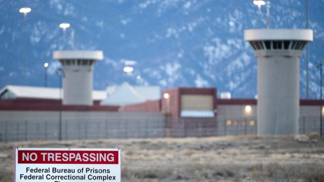 """The United States Penitentiary Administrative Maximum Facility, also known as the ADX or """"Supermax"""", in Florence, Colorado"""