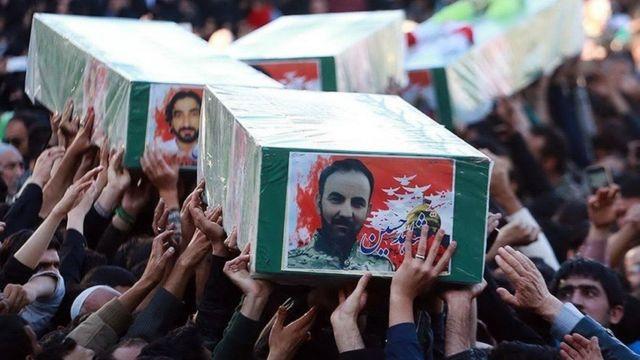 کشتههای ایران در سوریه