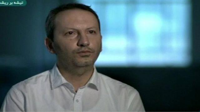تصویری از فیلم 'اعترافات' آقای جلالی با عنوان 'تیشه بر ریشه' که وزارت اطلاعات تهیه کرده